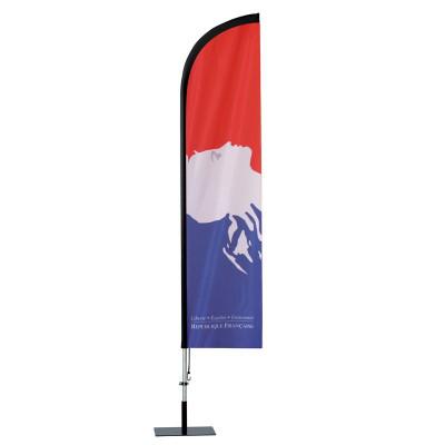Beach Flag Classique Officiel Personnalisé