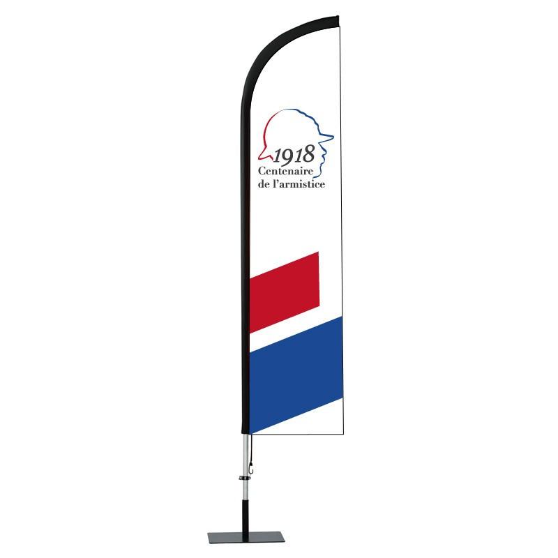 Beach Flag Spécial Centenaire ( Visuel B )