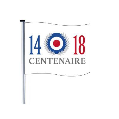 Drapeau pour Mât - Centenaire 14/18 - Visuel A