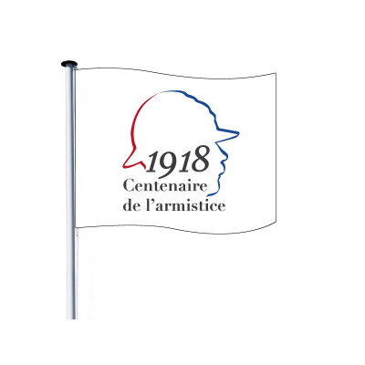Drapeau pour Mât - Centenaire 14/18 - Visuel B