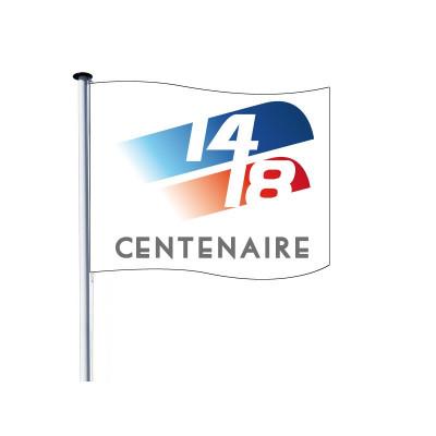 Drapeau pour Mât - Centenaire 14/18 - Visuel C