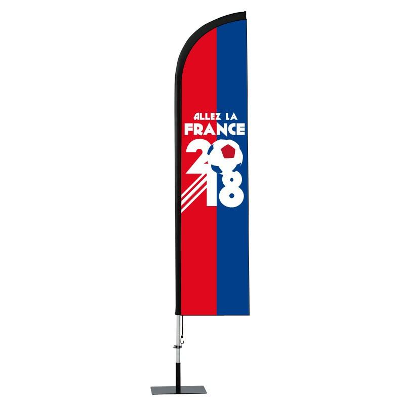 BeachFlag - Coupe du Monde 2018 - Visuel B