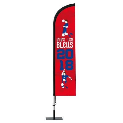 BeachFlag - Coupe du Monde 2018 - Visuel C