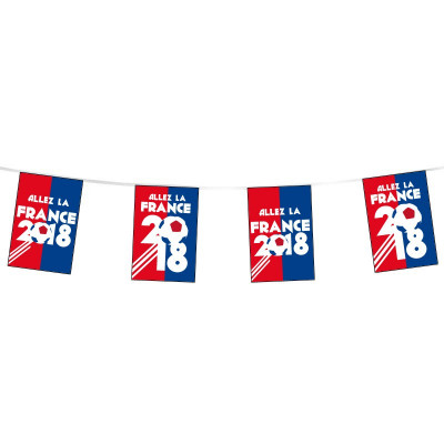 Guirlande - Coupe du Monde 2018 - Visuel B