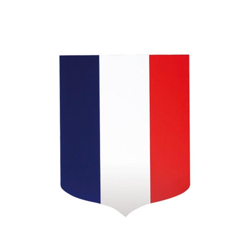 Écusson porte-drapeau mairie - vue blason - MACAP