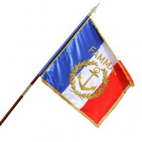 Drapeau Officiel de Défilé France personnalisé