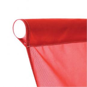 Drapeau pour Mât Potence à Fourreau (forme verticale) - vue fixation haute fourreau - MACAP