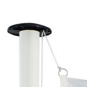 Drapeau pour Mât Classique (forme verticale) - vue fixation haute -MACAP