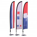 Beach Flag Oriflamme Light personnalisé officiel