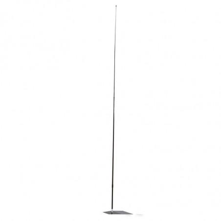 Beach flag - Oriflamme LIGHT (KIT complet) - vue structure seule - Livraison express - 48 h MACAP