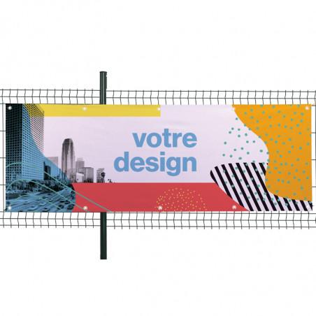 Banderole Textile (fixation oeillets) Livrée en 48 H - MACAP