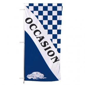 """Pavillon pour mât télescopique Autocal """"Occasion"""" (modèle 1 -Bleu)"""