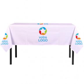 Nappe personnalisée avec un logo par côté - MACAP