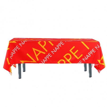 Nappe personnalisée vue côté - MACAP