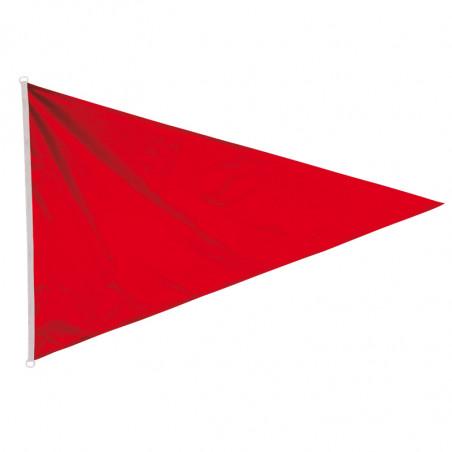 Flamme de baignade Rouge avec oeillets (application volontaire)