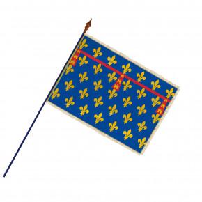 Drapeau Province Artois avec hampe, franges et galon or | MACAP