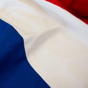 drapeau français gros plan