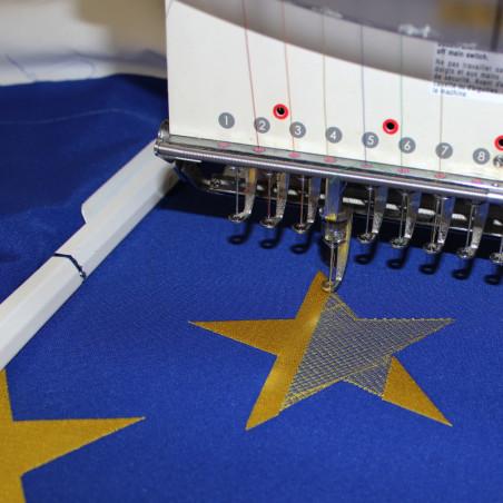 broderie étoile drapeau Union Européenne