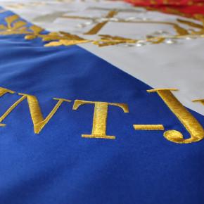 zoom drapeau français personnalisé