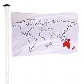 Drapeau Pavillon pour mât officiel des pays d'Océanie - MACAP