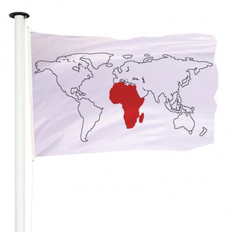 Drapeau Pavillon pour mât officiel des pays d'Afrique - MACAP