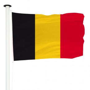 Drapeau Pavillon pour mât officiel de la Belgique - MACAP