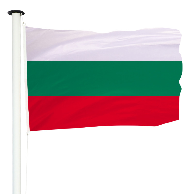 Drapeau Pavillon pour mât officiel de la Bulgarie