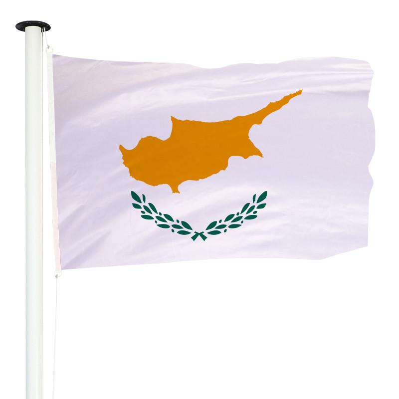 Drapeau Pavillon pour mât officiel de Chypre