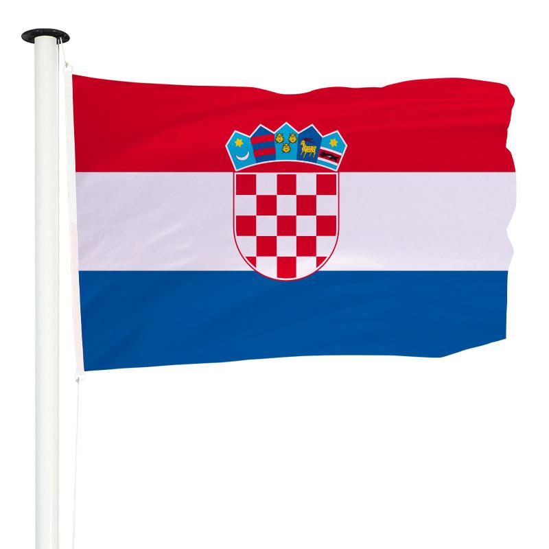 Drapeau Pavillon pour mât officiel de Croatie