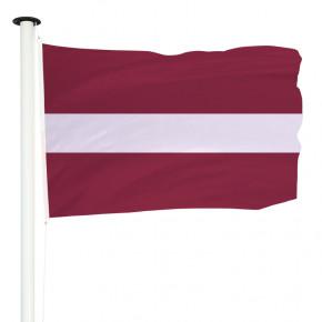 Drapeau Pavillon pour mât officiel de la Lettonie