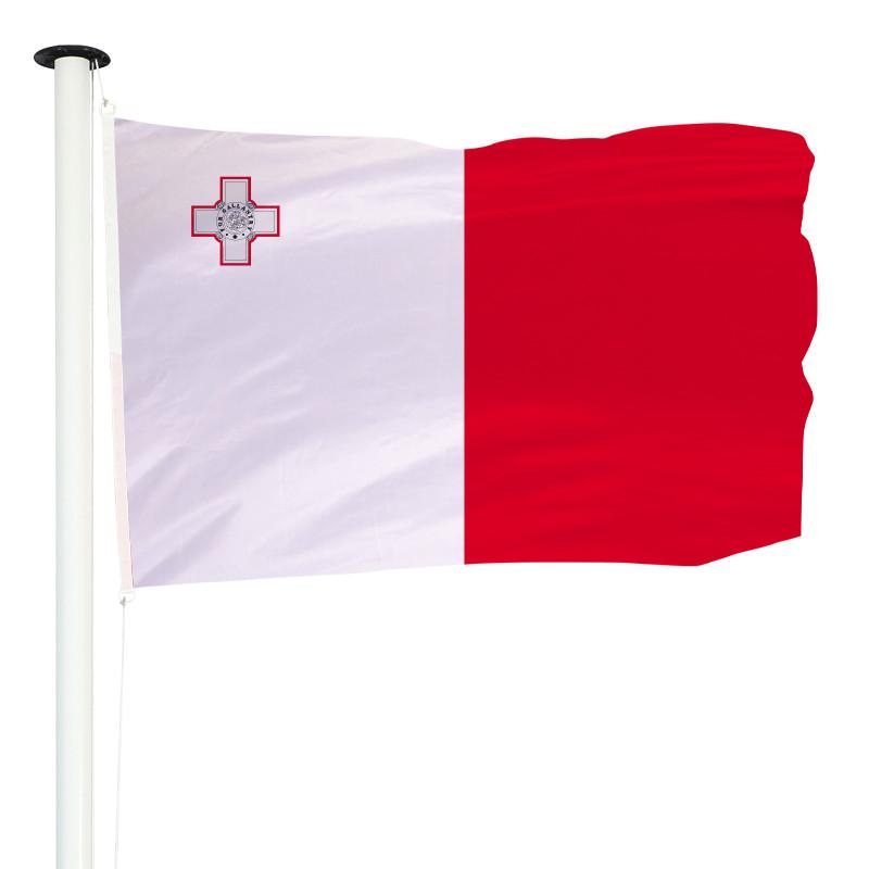 Drapeau Pavillon pour mât officiel de Malte