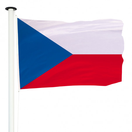 Drapeau Pavillon pour mât officiel de la République Tchèque