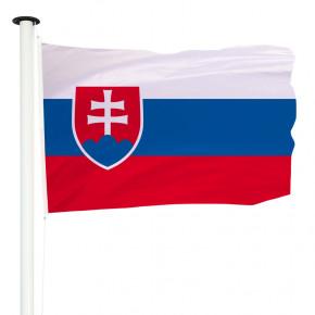 Drapeau Pavillon pour mât officiel de Slovaquie