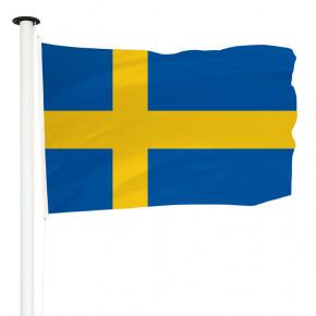 Drapeau Pavillon pour mât officiel de Suède