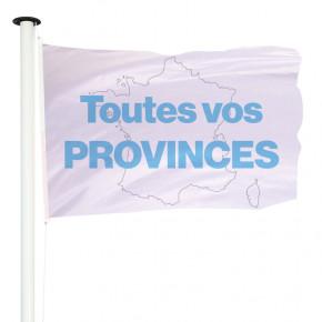 Drapeau pavillon officiel pour mât des provinces françaises - MACAP