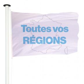Drapeau des régions françaises pour mât | MACAP
