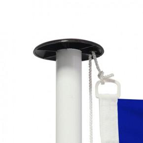 Drapeau pour mât Pavillon français -vue oeillet- MACAP