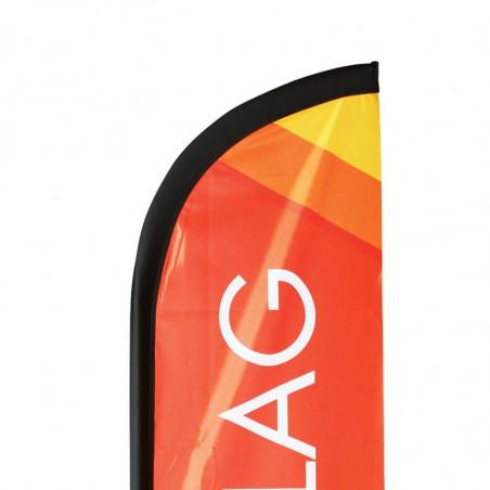 Kit Oriflamme Beachflag classique - vue fixation haute -MACAP