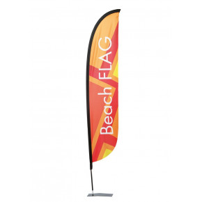 Beach flag - Oriflamme LIGHT (KIT complet) - MACAP