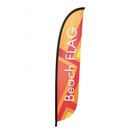 Beach flag - Oriflamme LIGHT ( VOILE SEULE ) - MACAP