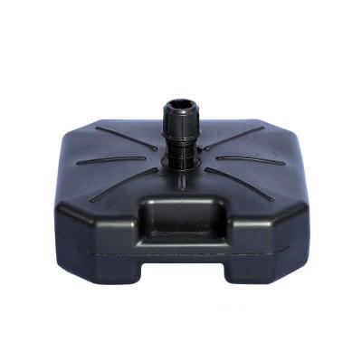 Pied Lestable 16 L (plastique noir) -vue côté poignée- MACAP