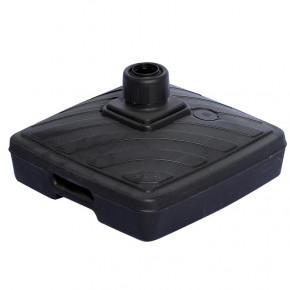 Pied Lestable 40L (plastique gris anthracite) - vue côté -MACAP