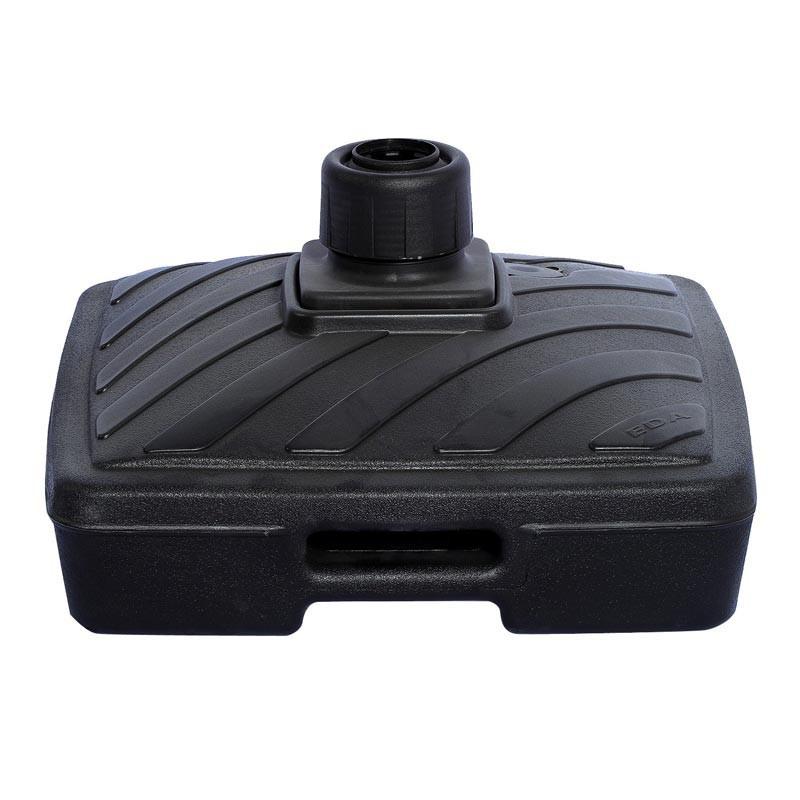 Pied Lestable 40L (plastique gris anthracite) - MACAP