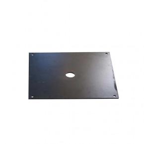 Platine Additionnelle pour Platine Carrée Noire (acier) - MACAP