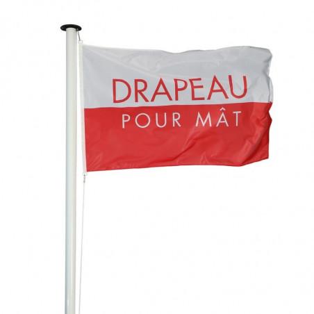 Drapeau pour Mât Classique (forme horizontale) - MACAP