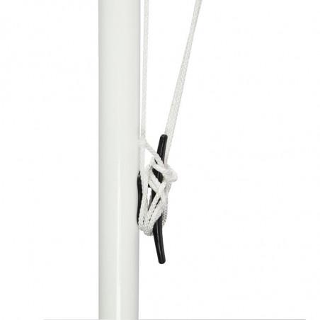 Drapeau pour Mât de Façade (forme horizontale) - vue taquet -MACAP