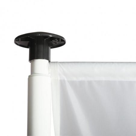 Drapeau pour Mât Potence à Fourreau (forme verticale) - vue potence haute -MACAP