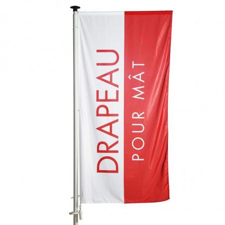 Drapeau pour Mât Potence à Fourreau (forme verticale) - MACAP