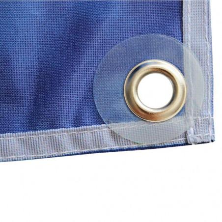 Banderole Intissé & Textile (fixation oeillets) - vue arrière oeilet - MACAP