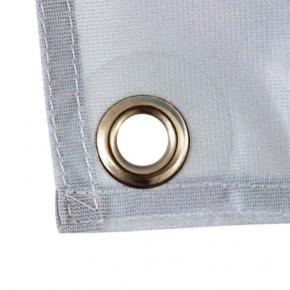 Banderole Intissé & Textile (fixation oeillets) - vue oeillet -MACAP